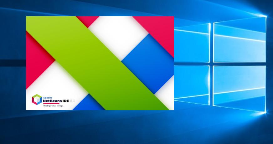 install netbeans on windows 10