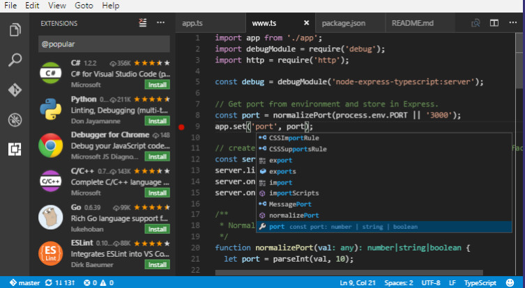 install vscode ubuntu