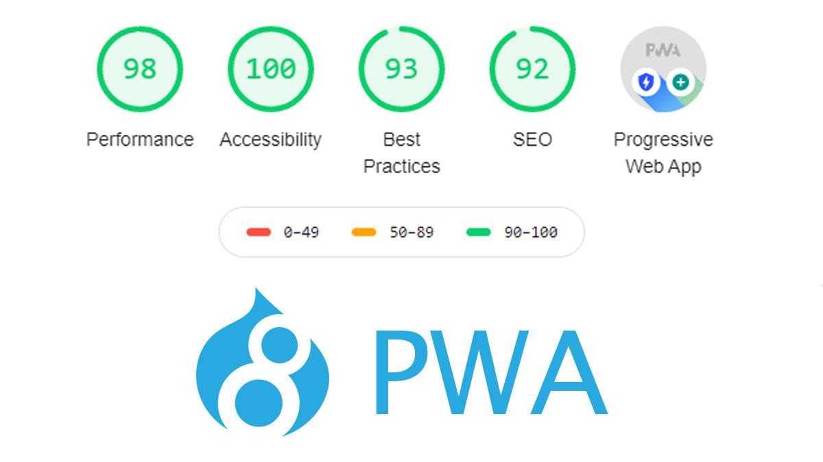 drupal pwa installation and configuration