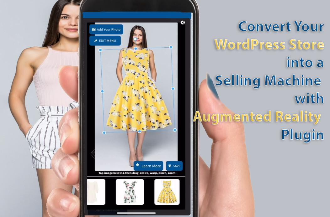 wordpress woocommerce augmented reality plugin