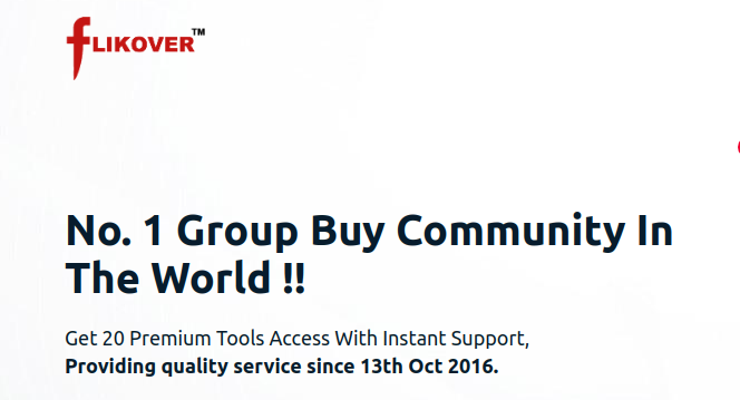 Flikover group buy seo tools