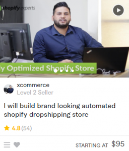 build shopify dropshipping store